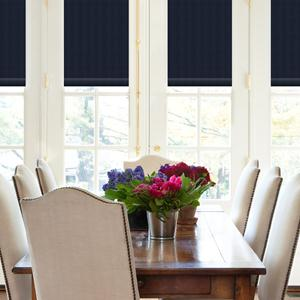 Classic Stripes Light Filtering Roman Shades 6096