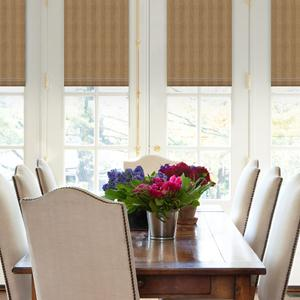 Classic Stripes Light Filtering Roman Shades 6097