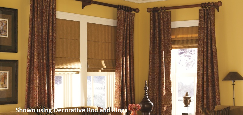 Back Tab Drapery The Most Traditional Window Coverings