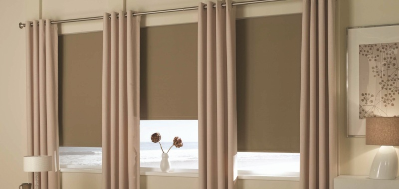Grommet Drapes are elegant Noise Reducing Window Treatments