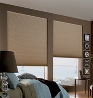 "3/4"" Cordless Single Cell Blackout Shade"