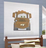Disney Cars Cordless Cellular Shades