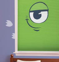 Disney Monsters Cordless Cellular Shades