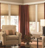 "1/2"" Light Filtering Cordless Cell Shades"