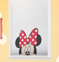 Disney Minnie Mouse Cordless Cellular Shades