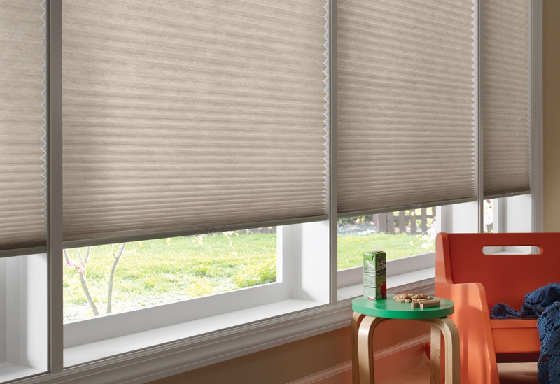 Good Housekeeping 1/2 Single Cell Light Filtering Custom Blinds and Shades By SelectBlinds.com