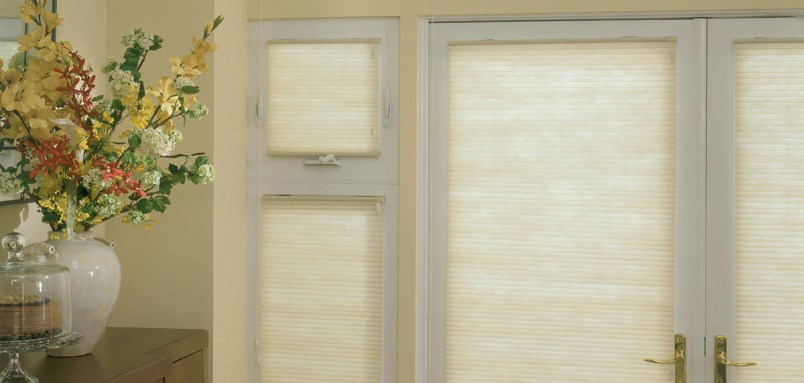 If you have high kitchen windows you want covered but can't reach, check out these 3/8 inch double cell light filtering motorized shades.