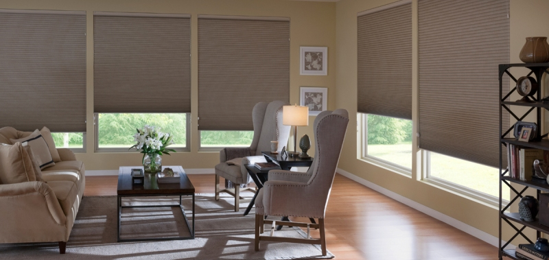 "3/8"" Double Cell Light Filtering Shades"