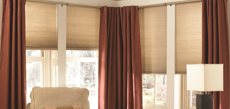 1/2 inch Light Filtering Cordless Cellular Shades