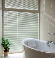 "1"" Designer Faux Wood Blinds"