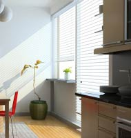 "2 1/2"" Designer Faux Wood Blinds"