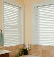 "2 1/2"" Privacy Faux Wood Blind"