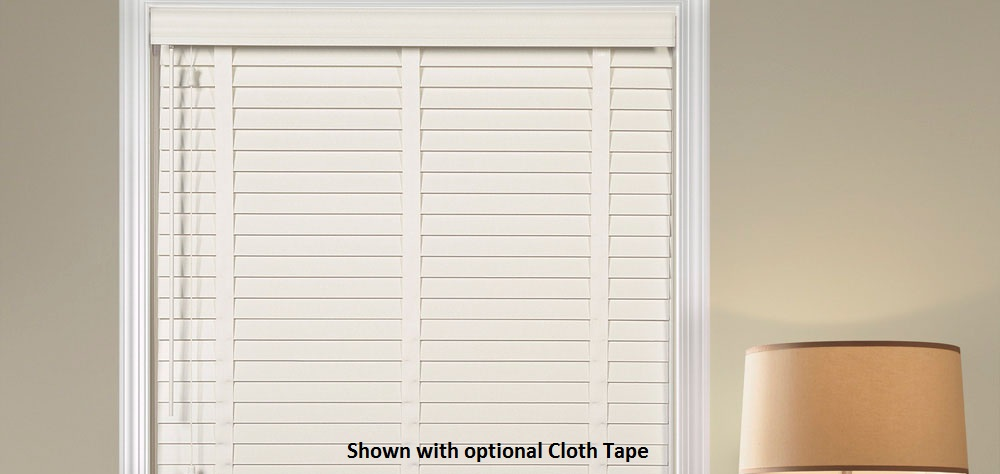 Classroom Window Coverings Solution - At Home Collection 2 Inch Alloy Wood Blinds