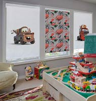 Disney Cars Cordless Roller Shades