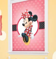 Disney Minnie Mouse Cordless Roller Shades
