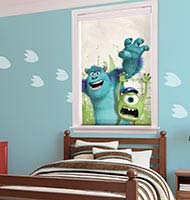 Disney Monsters Cordless Roller Shades