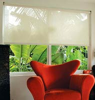 Solar Screen 14% Roller Shades