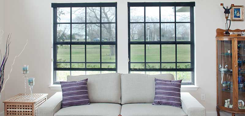 Energy Efficient Window Treatments like these Sheer Weave 3000 Solar Shades block out harmful UV rays.