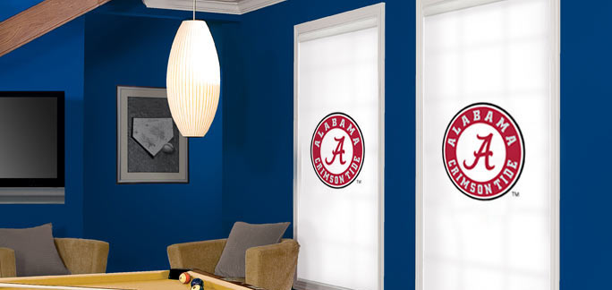 Collegiate Collection Roller Shades Custom Blinds and Shades By SelectBlinds.com