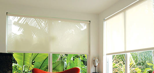 Solar Screen 14% Roller Shades Custom Blinds and Shades By SelectBlinds.com