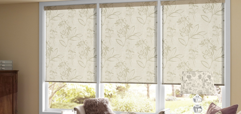 roller shades with patterns