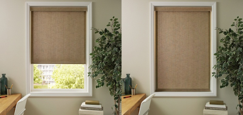 Interior Blackout Shades Solar Shades Control Interior
