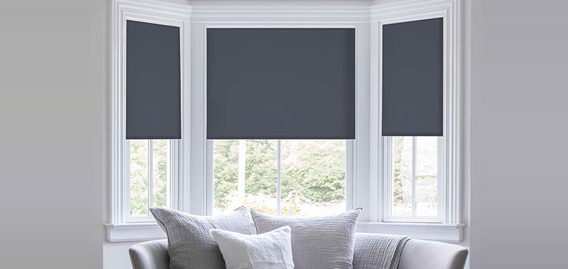 Reminiscent Vinyl Blackout Roller Shades Custom Blinds and Shades By ...