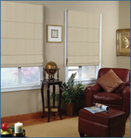 Basic Solid Roman Shades