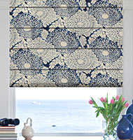 Basic Prints Roman Shades