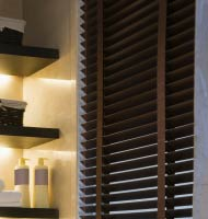 2 Veneto Wood Blinds