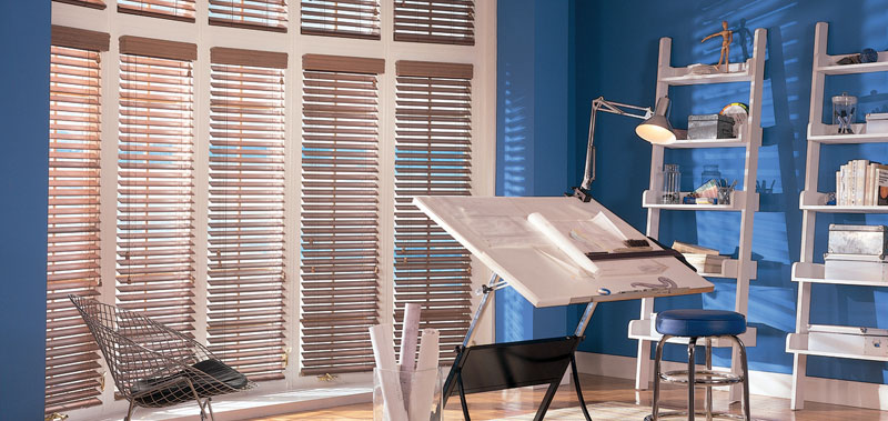2 1/2 Inch Veneto Wood Blinds are great for privacy!