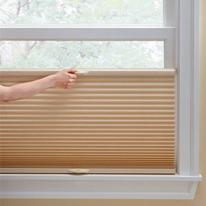 Top Down Bottom Up Shades Honeycomb Pleated Bamboo