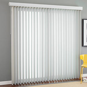 Vertical Blinds Perfect For Wide Windows