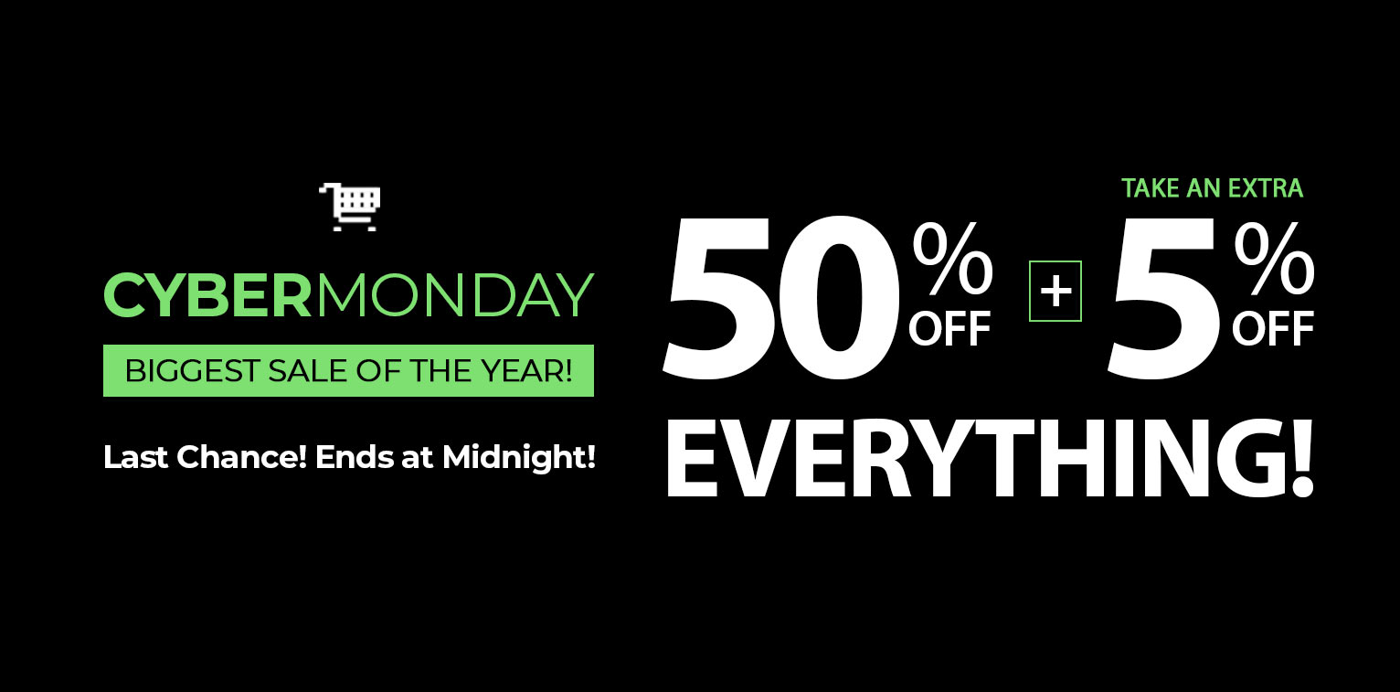 2020 Cyber Monday Biggest Sale of the Year at SelectBlinds.com!