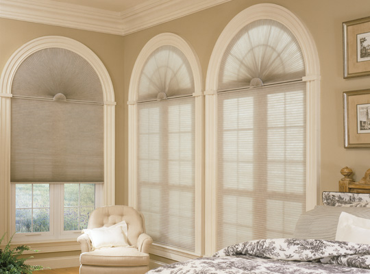 Cell Shades Arch from SelectBlinds.com