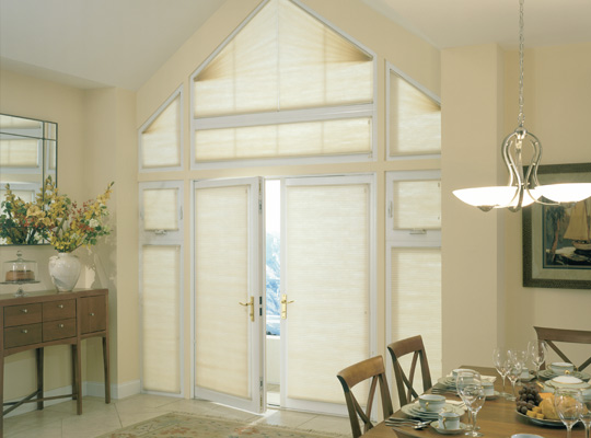 Specialty Cell Shades Arch Window Coverings