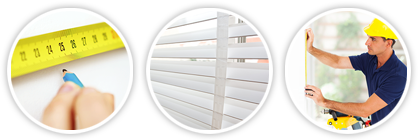 Professional blinds installation