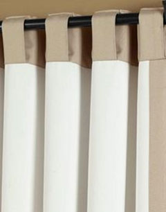 Side Curtain Panel Rods