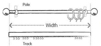 How To Measure Curtain Rod Diameter Curtain Menzilperde Net