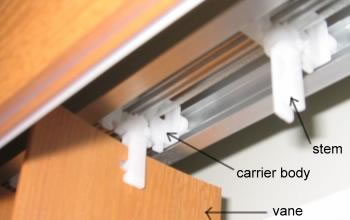 Repair Guide For Vertical Blind Tracks Menu