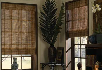 Express woven wood shades for Select blinds