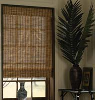 Natural Wood Woven Shades
