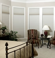 "3/8"" Double Cell Blackout Shades"