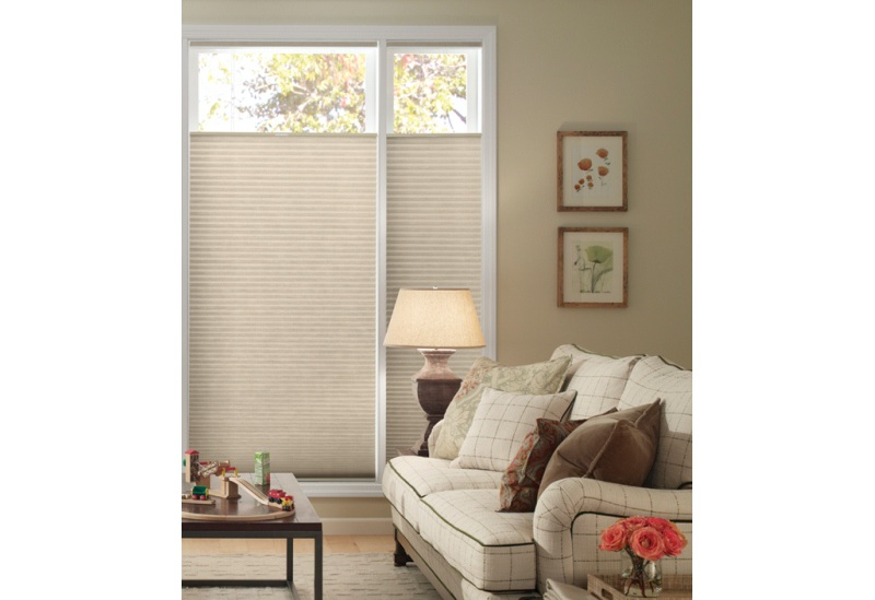 "Good Housekeeping 3/8"" Double Cell Light Filtering Custom Blinds and Shades By SelectBlinds.com"