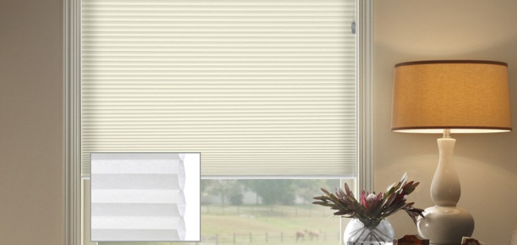 @Home Collection 1/2 Single Cell Light Filtering Custom Blinds and Shades By SelectBlinds.com