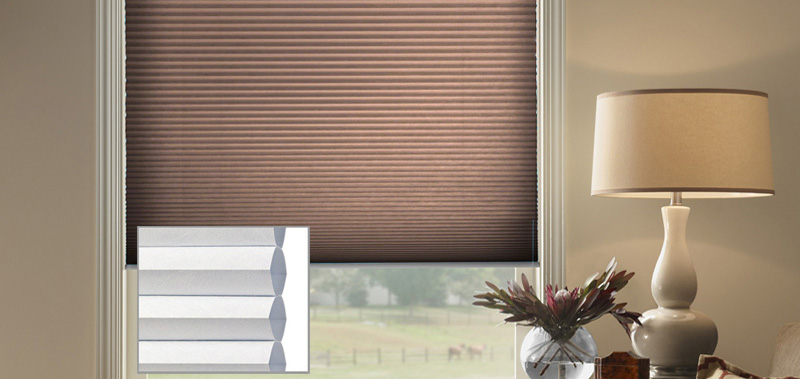 @Home Collection 1/2 Single Cell Blackout Custom Blinds and Shades By SelectBlinds.com