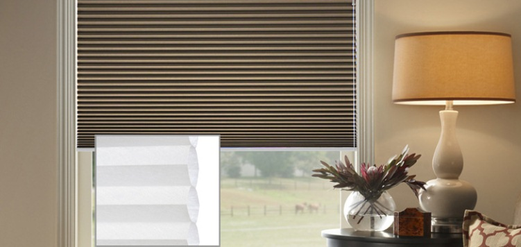 @Home Collection 3/4 Single Cell Blackout Custom Blinds and Shades By SelectBlinds.com