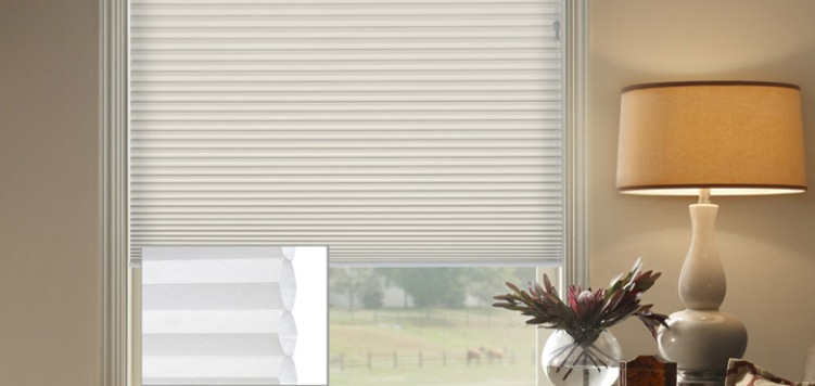 @Home Collection 3/4 Single Cell Light Filtering Custom Blinds and Shades By SelectBlinds.com