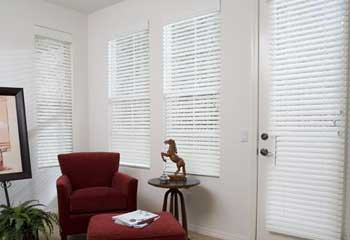 2 Select Faux Wood Blinds