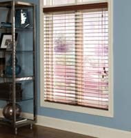 "@Home Collection 2 1/2"" Alloy Wood Blinds"